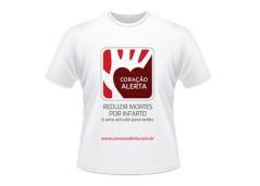Doe para a campanha e receba uma camiseta