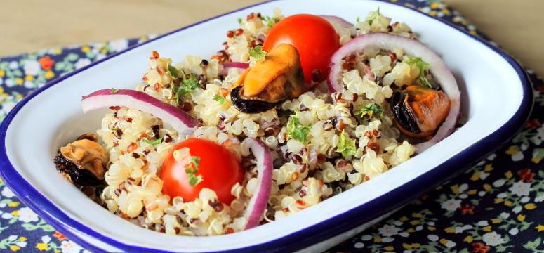 farofa natalina de quinoa