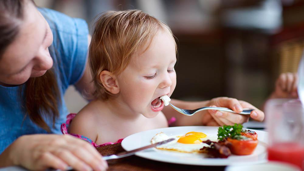 comida crianca